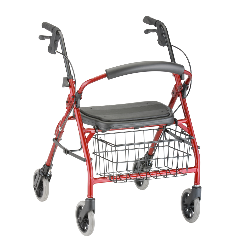 Product Image Deluxe Junior Rolling Walker Red