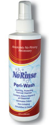 NO RINSE Peri-Wash 8OZ