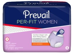 PER-FIT by Prevail for Women Protective Underwear L 44-58